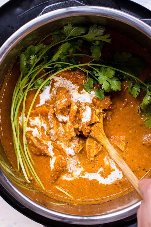Instant Pot Butter Chicken 2