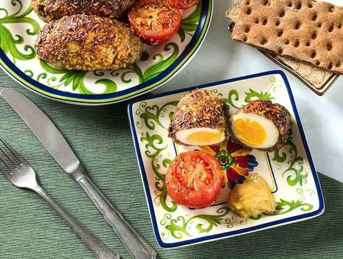 Keto Scotch Eggs Recipe