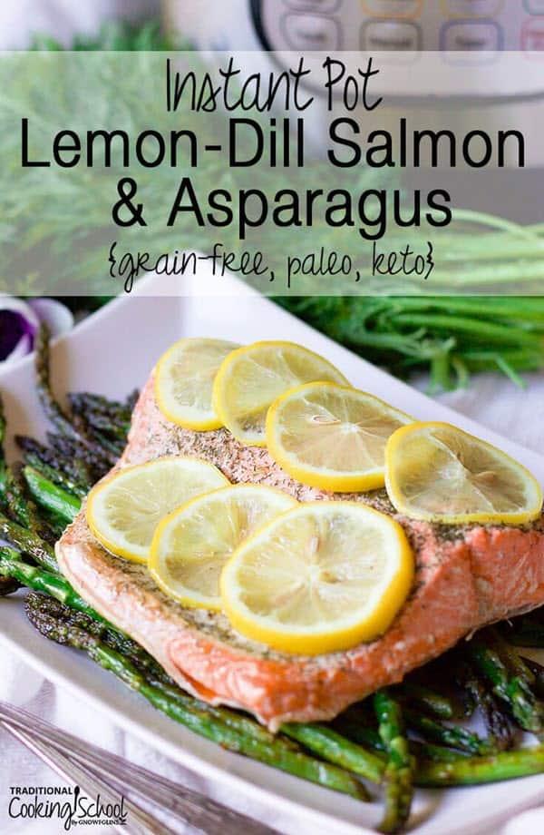 Lemon-Dill Salmon & Asparagus