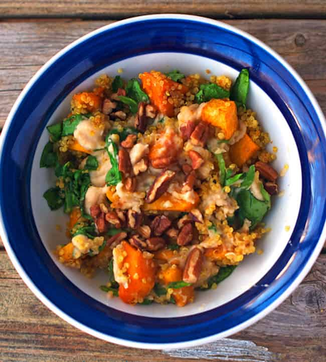 Spicy Sweet Squash Bowl