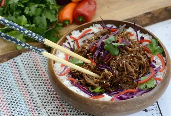 Sweet 'n Spicy Asian Pulled Pork