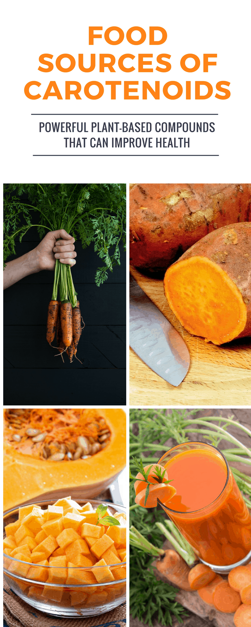 Food Sources of Carotenoids