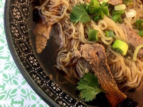 Low Carb Keto Beef Shirataki Noodle Pho