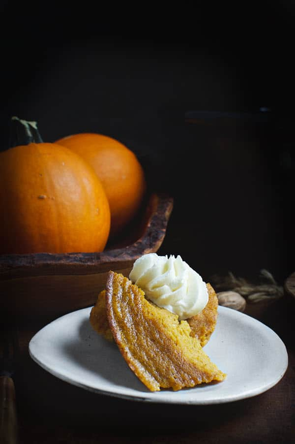 Low Carb Slow Cooker Pumpkin Custard