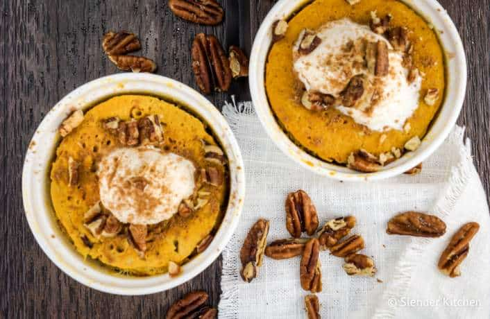 Microwave Pumpkin Custard