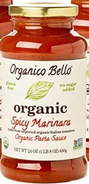 Organico Bello Gourmet Organic Pasta Sauce