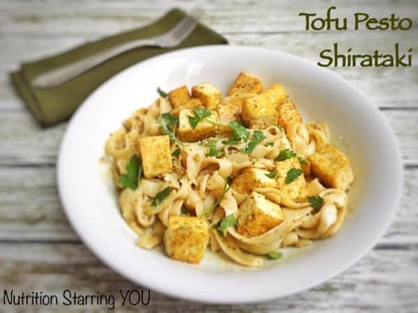 Tofu Pesto Shirataki