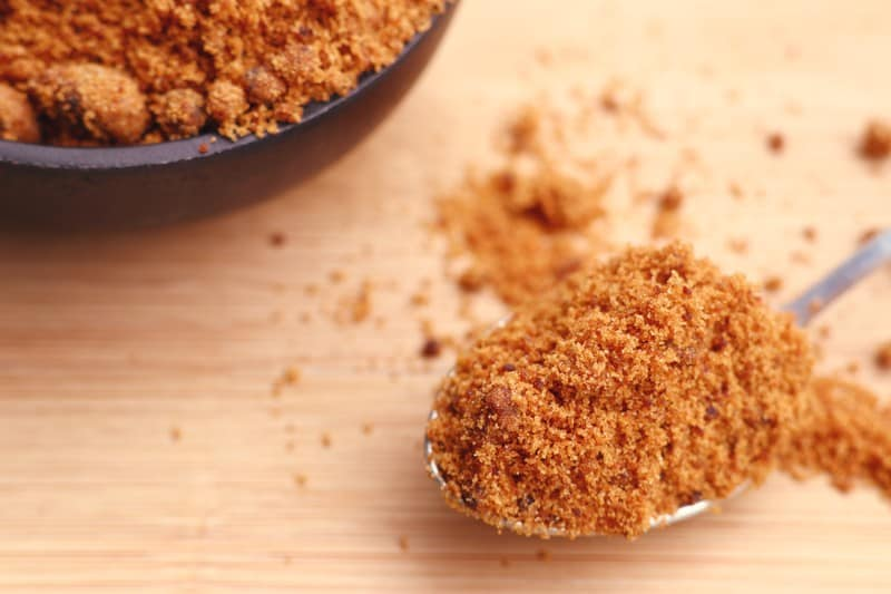 Brown sugar substitutes