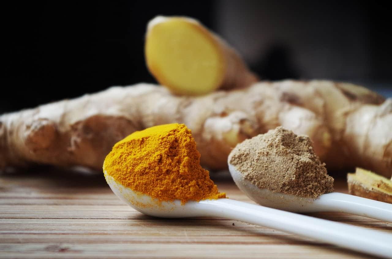 Ginger vs turmeric