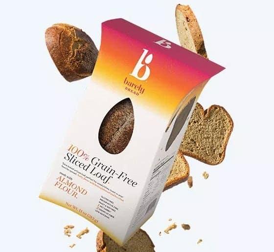 Barely Bread Sliced Loaf