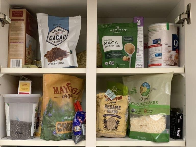keto pantry snacks