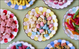 Selection of Sugary Sweets