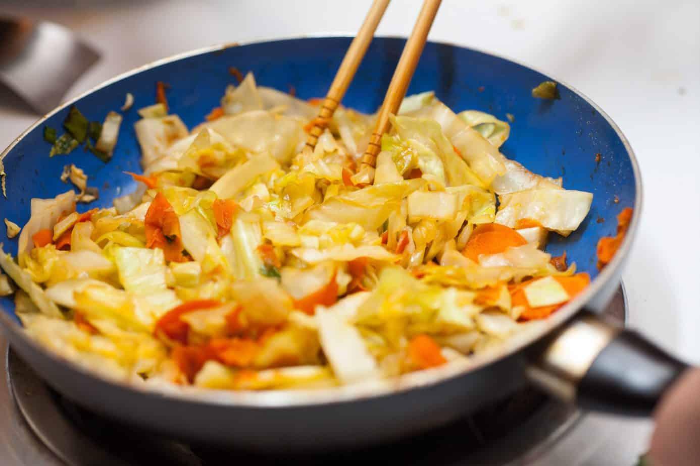 Sauté Cabbage