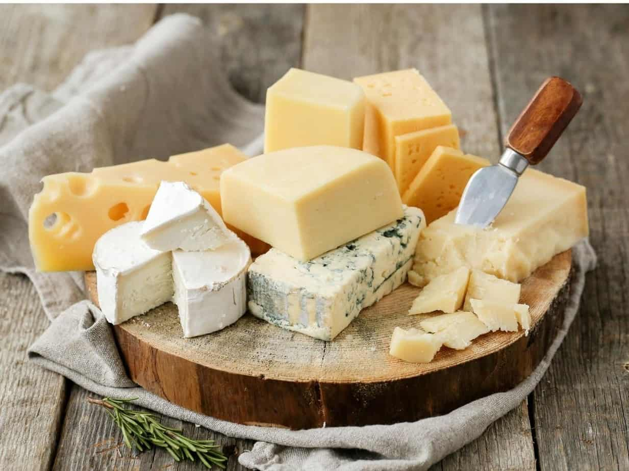 What Are the 7 Types of Cheese